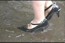 Wet &Messy Shoes Scene047