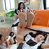 劉慧卿的腳和撓癢癢在一次 DL 系列 1-3