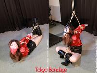 東京緊縛写真集 [AMP1 熟女緊縛 被虐のサテンブラウス あすみ]