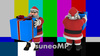 Santa Claus (with alpha channel) FHD, set of 4