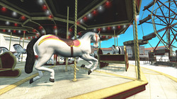 Image CG Amusement Park Amusement park