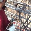 气压焊接接头的钢筋条纹