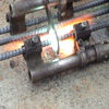 Gas pressure welding joint procedure for reinforced