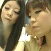 Japanese girl spit! 016