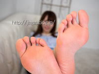 Amateur model RANA's leg back & stockings feet soles photos