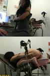 成熟的女人肛门灌肠检查 (SD 大小)