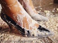 Wet &Messy Shoes Scene016