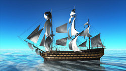 CG  Pirate ship120516-008