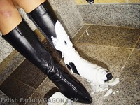 Wet &Messy Shoes Scene013