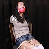 Photoset[#2267] College Girl Bound and Gagged