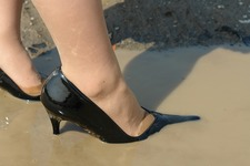 Wet&Messy Shoes画像集047