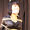 YR1 Japanese MILF Sales Lady Yuria Tied up and Gagged Part1