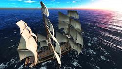Image CG sailing Pirate