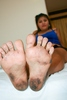 Foreigners traveling in soles (5) tenten-Chan reported raw soles, tickling